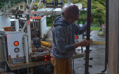 Periodic well cleaning or well rehab can keep wells producing