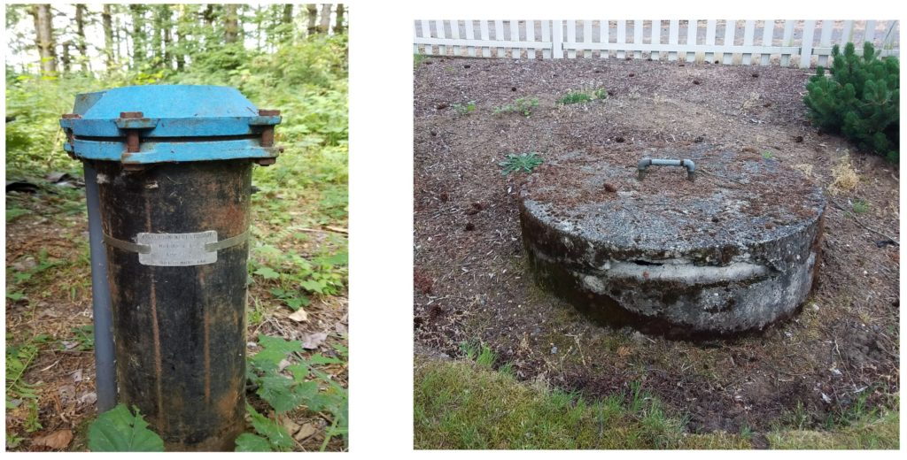 Drilled well vs a dug well in pictures